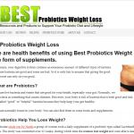 Best Probiotics Weight Loss