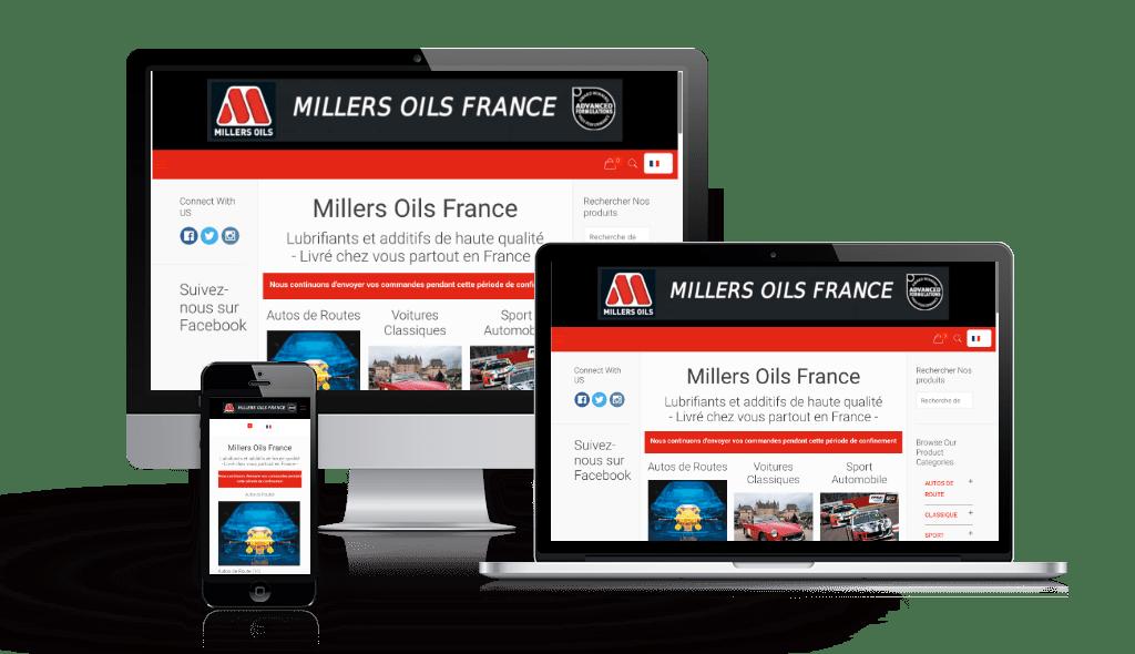 Millers Oils France